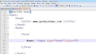 118. Value Attribute in HTML (Hindi)