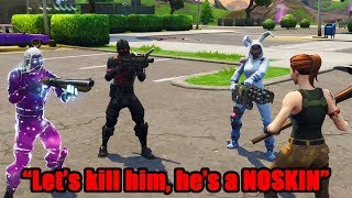 I Pretended To Be A Noob In Playground, Then DESTROYED BULLIES - Fortnite