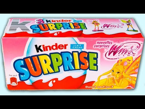 Xxx Mp4 3 Kinder Surprise Winx Club 2013 Awesome Surprise Eggs For Babies And Kids Pack Of Winx Club Eggs 3gp Sex