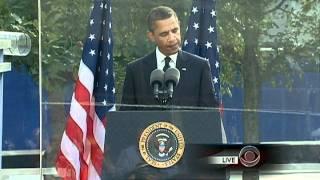 Obama, Bloomberg speak at ground zero on 9/11 tenth anniversary