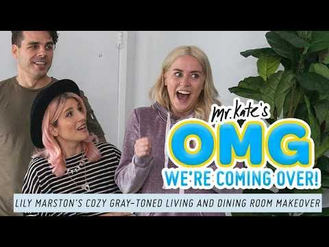 Xxx Mp4 Lily Marston's Cozy Gray Toned Living Dining Room Makeover OMG We Re Coming Over Mr Kate 3gp Sex