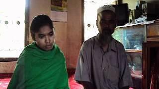Shantara with her Father.AVI