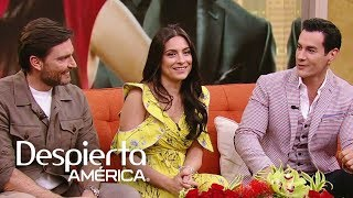 Ana Brenda, David Zepeda y Julián Gil: triángulo amoroso en 'Por amar sin ley'