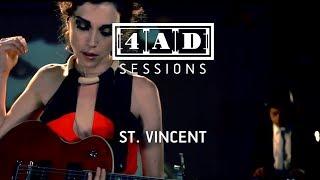 St Vincent - 4AD Session