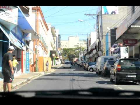 Lavras MG Brazil Driving my car. Dirigindo pelas ruas de Lavras