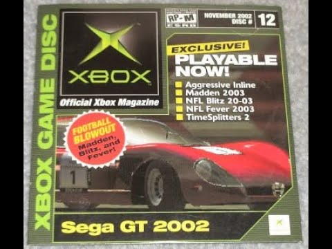 OXM Demo Disc#12 November 2002