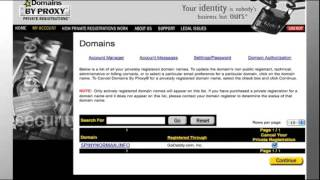 Transfer Domain Names Away From GoDaddy