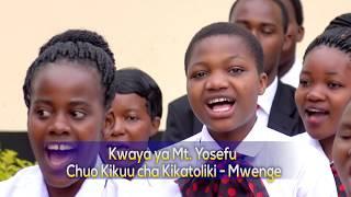 NITAIMBA NA KUMSIFU BWANA - Charles Saasita   Kwaya ya Mt. Yosefu Chuo Kikuu cha Kikatoliki Mwenge