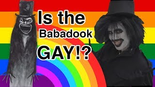 Babadook THE GAY ICON at LA PRIDE