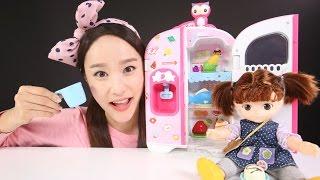 콩순이 말하는 냉장고 장난감 캐리의 인형 소꿉놀이 CarrieAndToys