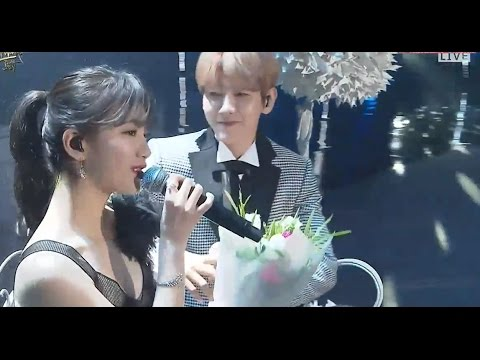 Suzy 수지 & BAEKHYUN 백현 Live Performance
