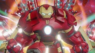 Disney Infinity 3.0 - Marvel Battlegrounds Complete Story Mode Walkthrough