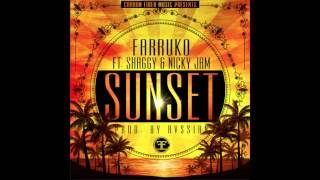 Farruko ft. Shaggy & Nicky Jam - Sunset (Official Audio) (Prod. by Rvssian)