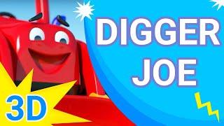 Digger Joe - The Balloon, 3D Cartoon Animation show for kids, children 2015