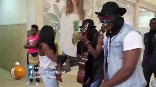 Watch- Sarkodie dared to sweep Kwame Nkrrumah circle by Dark Suburb