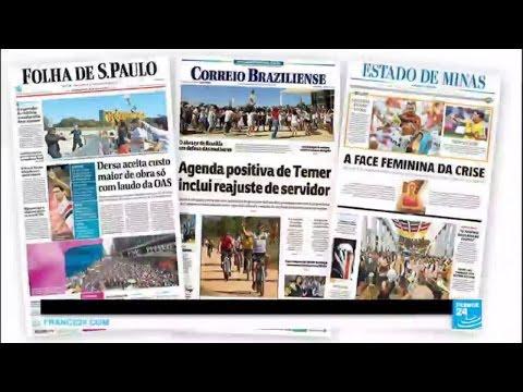 Brazil manhunt: Rio police search slums for dozens of gang rape suspects