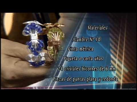 Alambrismo Elizabeth Orta Porta llaves y Brazalete 7 de 8
