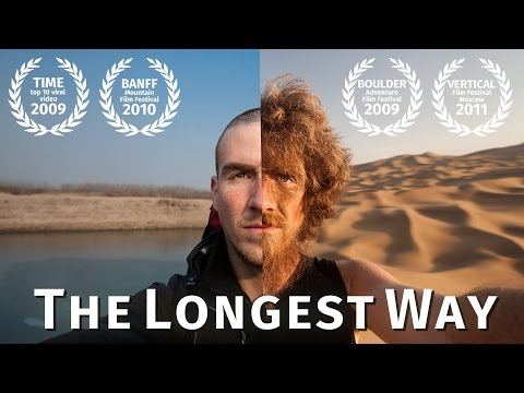 The Longest Way 1.0 walk through China and grow a beard a photo every day timelapse