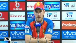 IPL 9 Qualifier SRH vs GL: Aaron Finch Reacts On The Loss