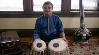 50 Lessons for Tabla: Lesson 1: Kayda 1