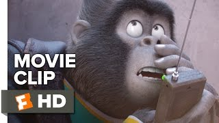 Sing Movie CLIP - Johnny Gets Distracted (2016) - Taron Egerton Movie