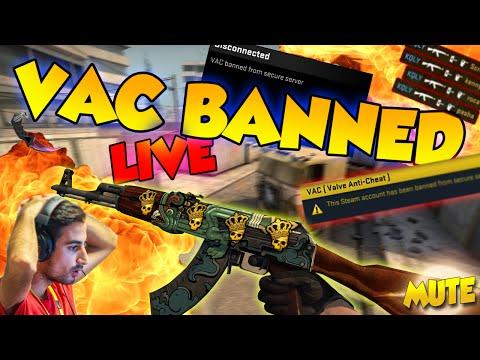 CS:GO - HACKERS VAC BANNED LIVE!!!