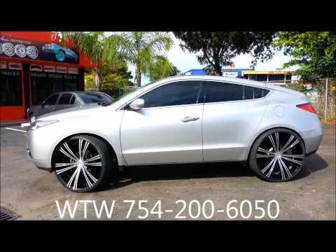 AceWhips.NET- WTW Customs- Female's 2012 Acura ZDX on 26