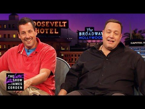 Kevin James & Adam Sandler Loving but Uncool Dads