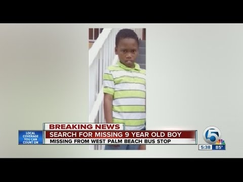 Search for missing 9-year-old boy