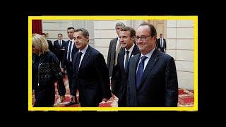 Breaking News | Former french president hollande slams trump