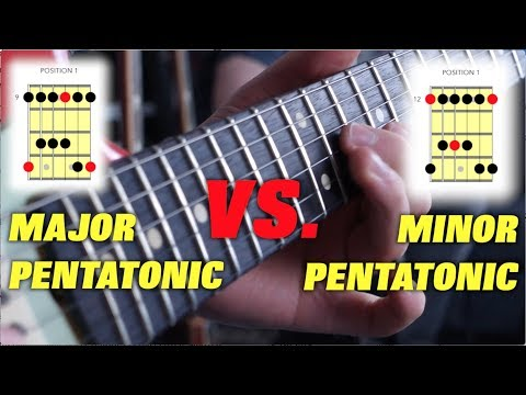 Xxx Mp4 The Difference Between Major And Minor Pentatonic Scales 3gp Sex