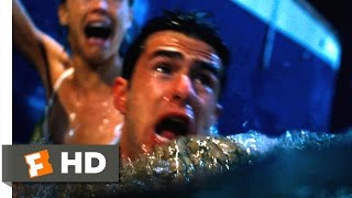 Deep Blue Sea - The Beast Beneath the Boat Scene (1/10) | Movieclips