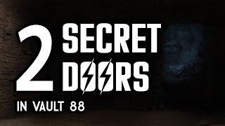 2 Secret Doors in Vault 88 - Vault-Tec Workshop - Fallout 4