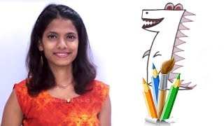 Drawing From Numbers | Drawing and Coloring Book For Kids | How to Draw Using Numbers For Children