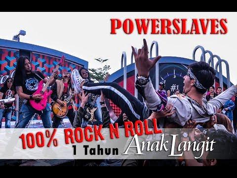 100% ROCK N ROLL di 1 TAHUN ANAK LANGIT SCTV, PECAAAHHHH !!!!