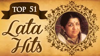 Top 51 Lata Mangeshkar Superhit Song Collection | (HD) Video Jukebox | Evergreen Bollywood Songs