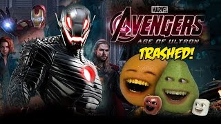 Annoying Orange - AVENGERS: AGE OF ULTRON  TRAILER Trashed!