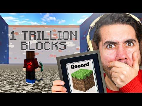 Mining 1 Trillion Blocks Alone In Minecraft