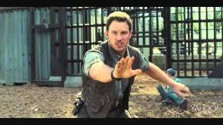 JURASSIC WORLD   Movie Clip #4 'Raptors' 2015 Chris Pratt Dinosaur Movie 720p 720p