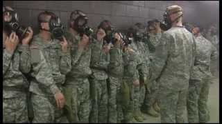 Army Basic Training - Ft Jackson, SC - Gas Chamber
