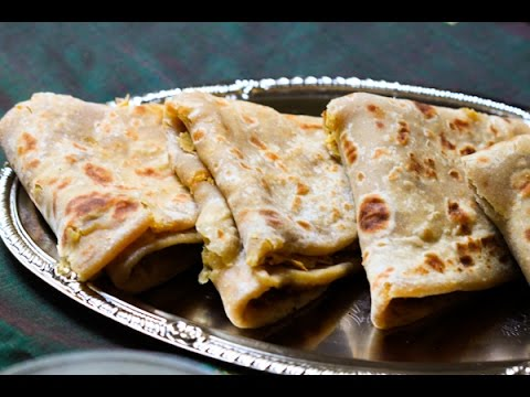 How to make Puran poli (indian sweet roti )  ?  by Desi indian lady