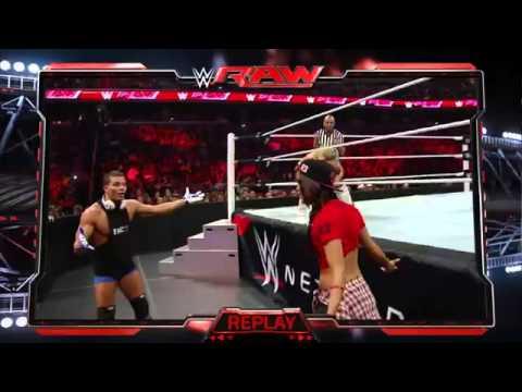 ناتاليا vs نيكي بيلا عرض الرو بتاريخ 29-12-2014
