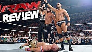 WWE RAW 30 May 2016 REVIEW! John Cena Returns, AJ Styles Heel Turn & Hatch Reveal!