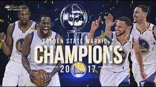 Story of Golden State Warriors' 2016-17 Championship Season
