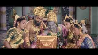 Mayabazar Movie || Beautiful Priyadarshini Scene || SVR, NTR, ANR, Savitri
