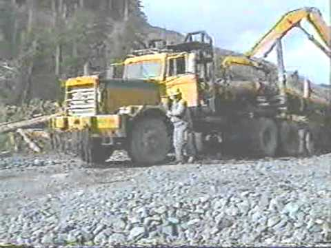 Cousin Bill .Logging Foreman in Alaska