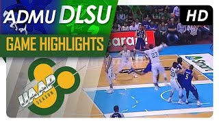 DLSU vs ADMU | Game Highlights | UAAP 80 Men's Basketball | November 12, 2017