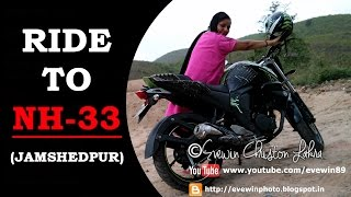 Evewin Lakra -Bike Ride - To - NH 33 - National - Highway - 33