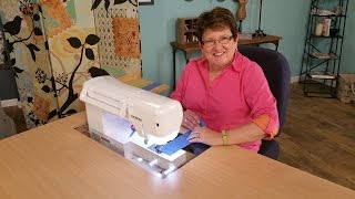 Janet Pray Shares Tips for Sewing Ergonomically on It's Sew Easy (1009-1)