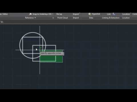How to Make Block and Insirt Block in Auto cad 2017 in Urdu/Hindi